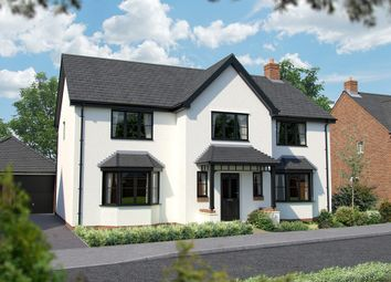 "Thumbnail 5 bed detached house for sale in ""The Truro"" at North End Road, Steeple Claydon, Buckingham"