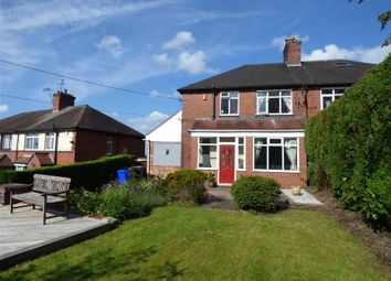 Thumbnail 3 bed semi-detached house for sale in Gravelly Bank, Lightwood, Longton, Stoke-On-Trent