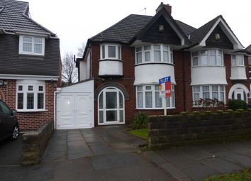Thumbnail 3 bedroom semi-detached house to rent in Lulworth Road, Hall Green, Birmingham.