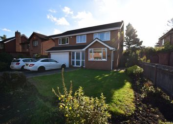 Thumbnail 4 bed detached house for sale in Lugtrout Lane, Solihull