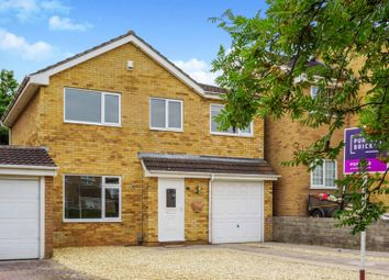 Thumbnail 4 bedroom link-detached house for sale in Hardwick Close, North Common