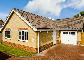 Thumbnail 3 bed detached bungalow for sale in Blackthorn Road, Wymondham