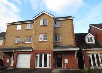 Thumbnail 3 bed town house for sale in Llwyn David, Barry