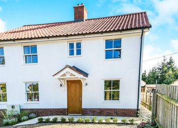 Thumbnail 3 bedroom semi-detached house for sale in School Hill, Nacton, Ipswich