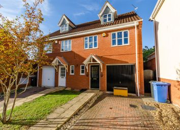 Thumbnail 4 bed town house for sale in Caddow Road, Norwich