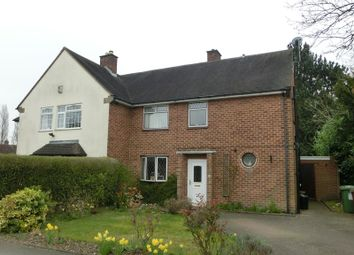 Thumbnail 3 bed semi-detached house for sale in Cranmore Boulevard, Shirley, Solihull