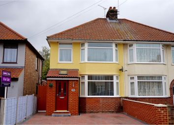 Thumbnail 3 bedroom semi-detached house for sale in Theberton Road, Ipswich