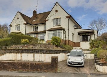 Thumbnail 4 bed semi-detached house for sale in Ridgeway Crescent, Newport