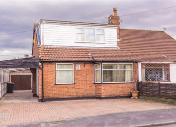 Thumbnail 4 bed semi-detached bungalow for sale in Lichfield Avenue, Lowton, Warrington