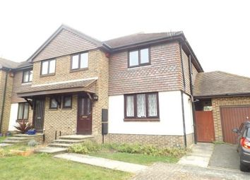 Thumbnail 4 bed semi-detached house to rent in Vicarage Close, Newhaven