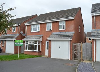 Thumbnail 4 bed detached house to rent in Darwin Close, Market Drayton