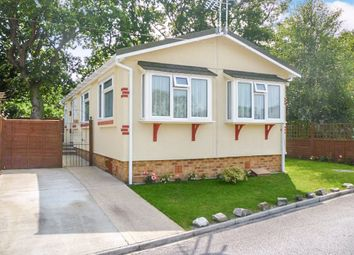 Thumbnail 2 bed mobile/park home for sale in Oak Tree Park, St. Leonards, Ringwood