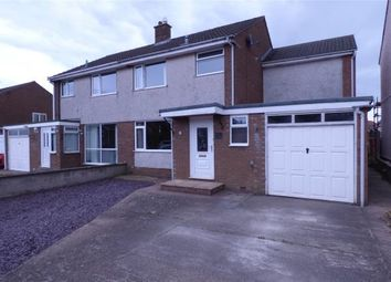 Thumbnail 3 bed semi-detached house for sale in Springfields, Wigton, Cumbria