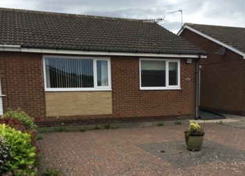 Thumbnail 2 bed semi-detached bungalow for sale in Warwick Close, Seghill, Northumberland
