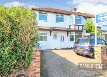 Thumbnail 3 bed semi-detached house for sale in Roslyn Avenue, Flixton, Urmston, Manchester