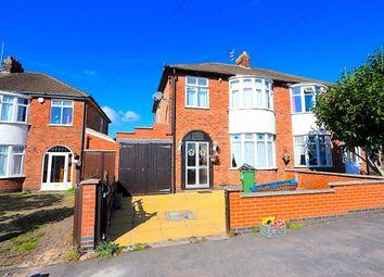 Thumbnail 3 bedroom semi-detached house to rent in Park Drive, Leicester Forest East, Leicester