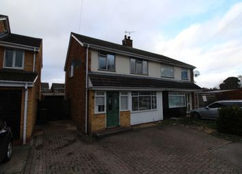 Thumbnail 3 bed semi-detached house for sale in Walnut Close, Newport Pagnell, Buckinghamshire