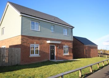 Thumbnail 4 bed detached house for sale in Parkside View, Backworth, Newcastle Upon Tyne