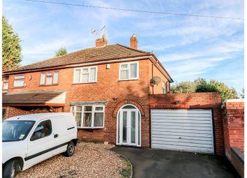 Thumbnail 3 bedroom semi-detached house for sale in Laburnum Road, Ettingshall Park, Wolverhampton