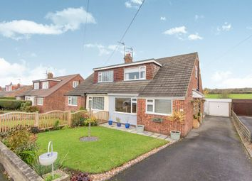 Thumbnail 3 bed semi-detached bungalow for sale in Coppice Wood Crescent, Yeadon, Leeds