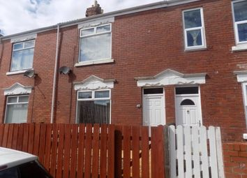 Thumbnail 2 bed terraced house to rent in Castle Terrace, Ashington