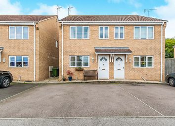 Thumbnail 2 bed semi-detached house for sale in Church Gardens, Coates, Peterborough