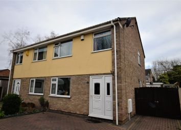 Thumbnail 3 bed semi-detached house for sale in Lynwood Road, Sinfin, Derby