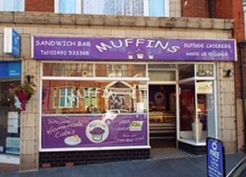 Thumbnail Restaurant/cafe for sale in Penrhyn Road, Colwyn Bay