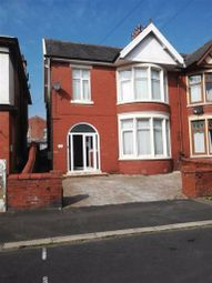 Thumbnail 4 bed semi-detached house for sale in Lincoln Road, Blackpool