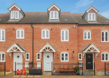 Thumbnail 3 bed terraced house for sale in Ashmead Road, Bedford