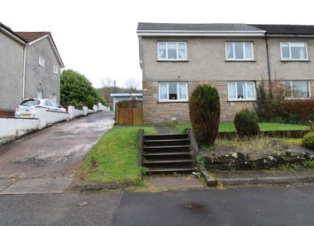 Thumbnail 3 bedroom semi-detached house for sale in Hollows Avenue, Paisley, Renfrewshire