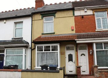 Thumbnail 2 bed terraced house for sale in Lily Road, Birmingham