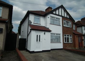 Thumbnail 3 bed semi-detached house for sale in Clewer Crescent, Harrow