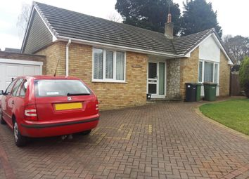 Thumbnail 3 bed detached bungalow for sale in Tudor Gardens, Hedge End, Southampton