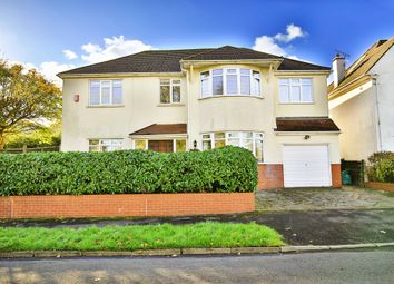 Thumbnail 4 bedroom detached house for sale in Lavernock Road, Penarth