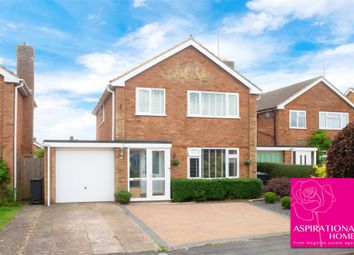 Thumbnail 3 bed detached house for sale in Antona Close, Raunds, Wellingborough, Northamptonshire