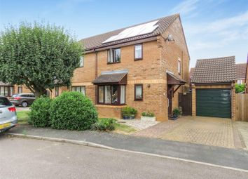 Thumbnail 3 bed semi-detached house for sale in Digby Court, Eaton Socon, St. Neots