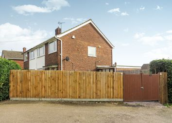Thumbnail 3 bed semi-detached house for sale in Lancaster Way, Yaxley, Peterborough