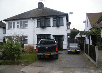 Thumbnail 3 bed semi-detached house to rent in Exford Avenue, Westcliff-On-Sea