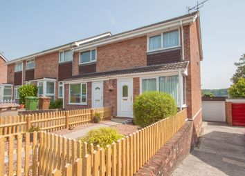 Thumbnail 2 bedroom end terrace house for sale in Mary Dean Avenue, Tamerton Foliot, Plymouth