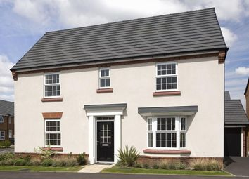 "Thumbnail 4 bedroom detached house for sale in ""Layton"" at Welbeck Avenue, Burbage, Hinckley"