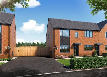 Thumbnail 3 bedroom mews house for sale in Riverbank View, The Leathley, Salford
