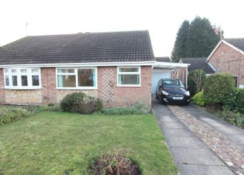 Thumbnail 2 bed semi-detached bungalow for sale in Balliol Road, Burbage, Hinckley