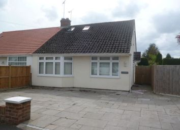 Thumbnail 3 bed bungalow to rent in Wallcroft, Willaston, Neston