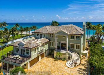 Thumbnail 6 bed property for sale in 1003 Hillsboro Mile, Hillsboro Beach, Fl, 33062