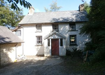 Thumbnail 2 bed farmhouse for sale in Llanddewi Brefi, Tregaron