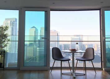 Thumbnail  Studio to rent in Arena Tower, 25 Crossharbour Plaza, Canary Wharf, London