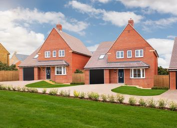 """Thumbnail 4 bed detached house for sale in """"Harrogate"""" at Blackthorn Crescent, Brixworth, Northampton"""