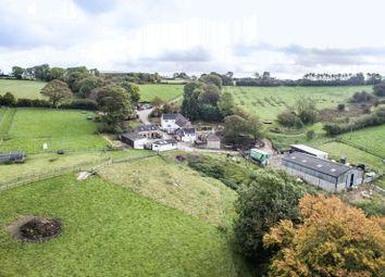 Thumbnail 5 bed farmhouse for sale in Riddings Park Farm, Kniveton, Ashbourne