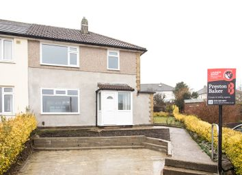 Thumbnail 3 bed semi-detached house for sale in Luttrell Close, Leeds, West Yorkshire
